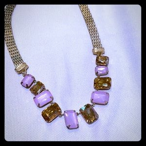 Baublebar faux gemstone necklace